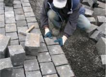 Okładzina brukowa z kamienia naturalnego o wysokiej wytrzymałości