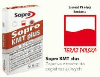 Zaprawa do klinkieru Sopro KMT 408